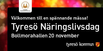 Rotviks Gård deltar på Tyresö näringslivsdag, 20/11