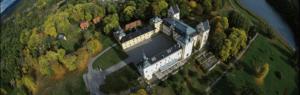 Flygbild Tyresö slott